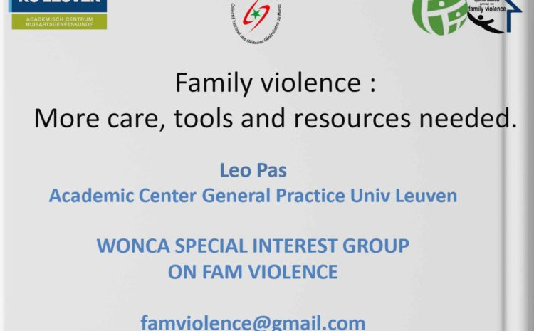 Family violence : More care, tools and resources needed